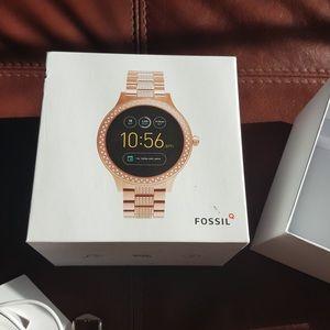 Fossil Q Gen 3 Smartwatch Q Venture Rose Gold